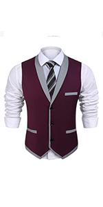 business suit vest formal dress vest for men