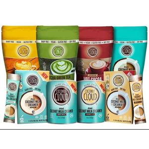 coconut cloud product non dairy free gluten free paleo coconut powdered milk coffee cream drink mix