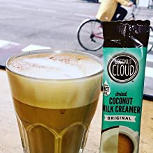 iced cold brew coffee dairy free non-dairy vegan paleo allergy friendly soy so delicious almond milk