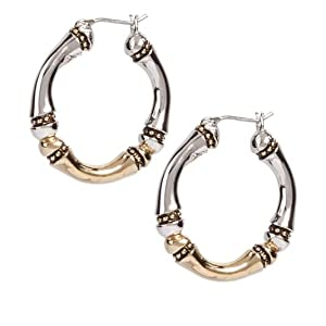 Large Hoop Canias Collection Earrings