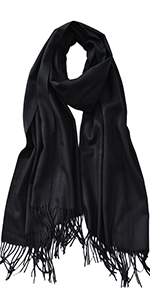 scarfs for women solid winter office wrap shawl wedding pashmina hijab cotton shawls for evening