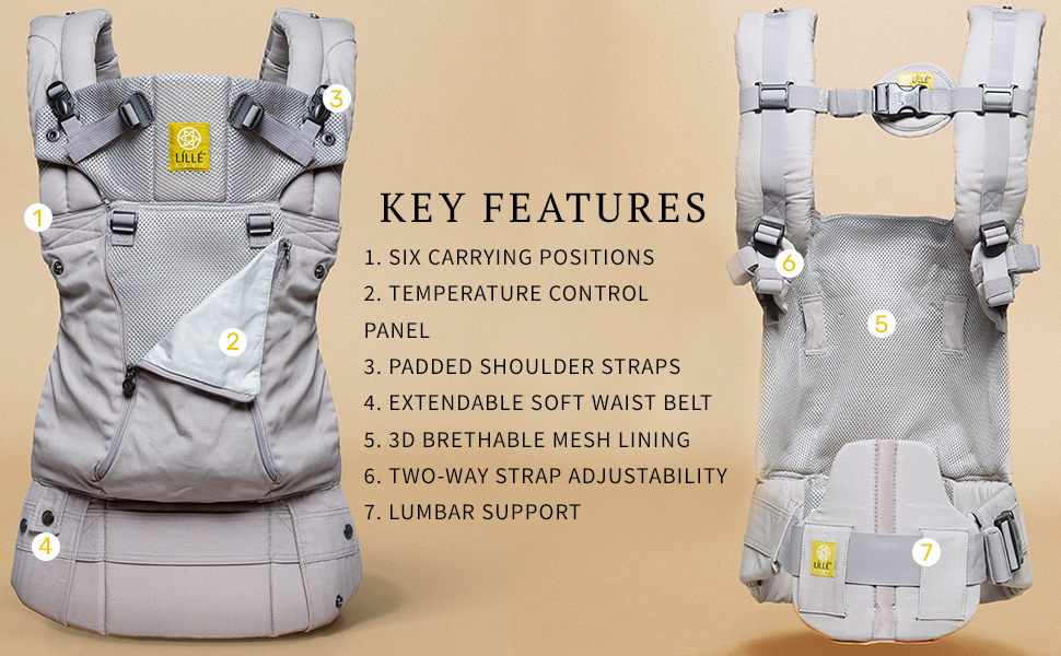 Baby carrier, toddler carrier, LILLEbaby All Seasons Baby carrier, Ergobaby