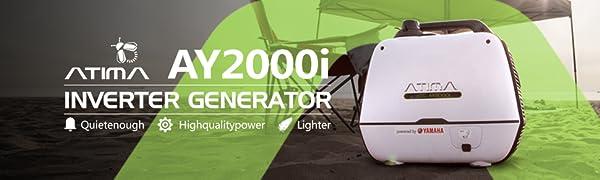 Amazon.com: Atima - Generador de inversor portátil pequeño y ...