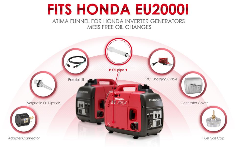 Amazon.com: Atima embudo para generador Honda Inverter para ...