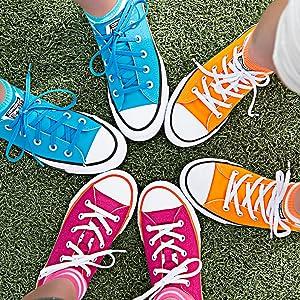 laces kids laces for running shoes replace shoe laces no tie elastic shoelaces sport shoe laces