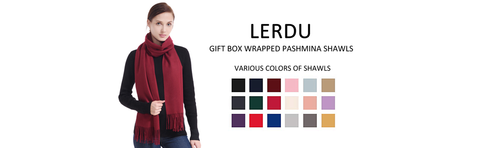 Various Colors of Shawls
