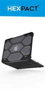 Amazon.com: IBENZER Hexpact MacBook Pro 13 inch case 2015 ...