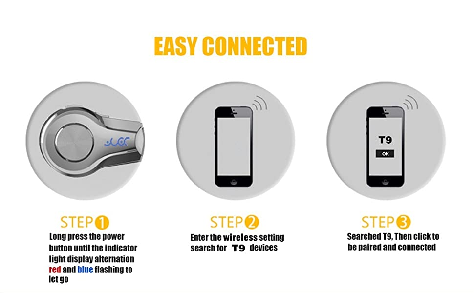 8a97adf3d81 Amazon.com: PONYBRO Wireless Headset, Superior ...
