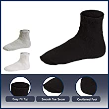 Diabetic socks are made of high-quality material.
