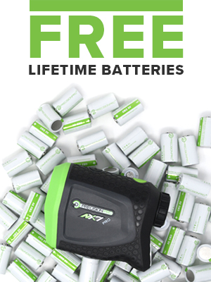 Free Lifetime Battery Replacement Services with Your Golf Rangefinder