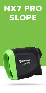 NX7 Pro Slope Golf Rangefinder