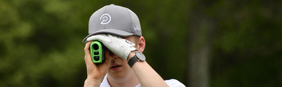 NX7 Golf Rangefinder by Precision Pro Golf