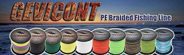 Gevicont Braided Fishing Line