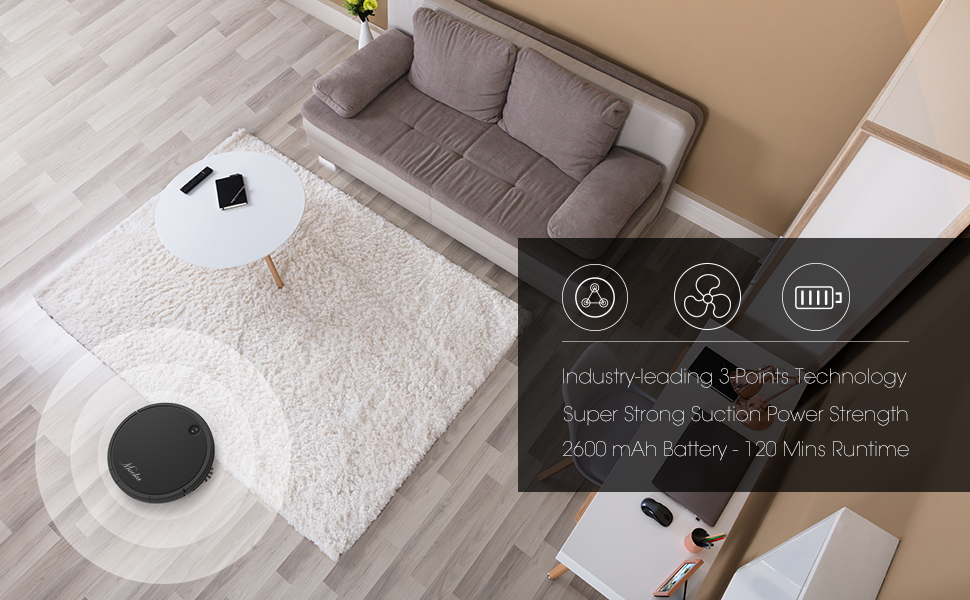 The Most Advanced Robot Vacuum Cleaner from Mooka