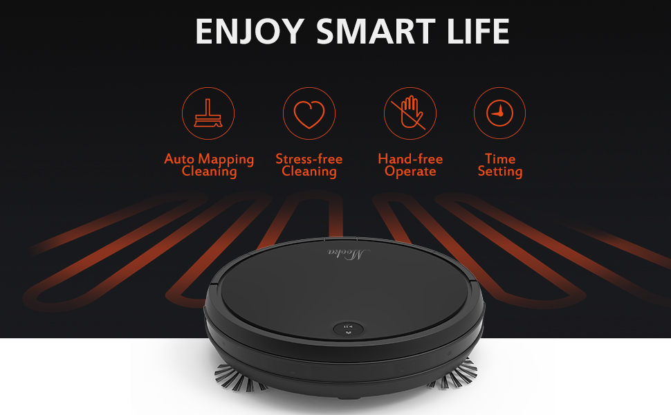 Robot Vacuum Cleaner Brings You a Smarter Life