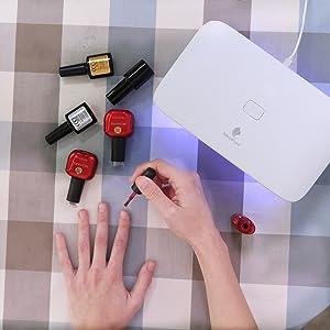 Miropure Gel UV LED Nail Lamp Dryer 24W - HK Shared Dream