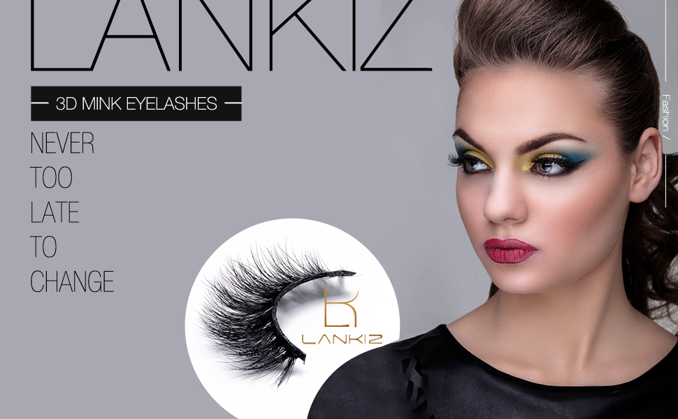50549e15649 3D Mink Eyelashes Strips 3d Double Wispies Reusable Mink Lashes Extremely  Soft with Thin Band Christmas Eyelashes by LANKIZ