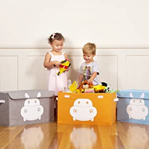 toy boxes and storage