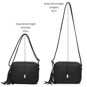 realer crossbody bags for women