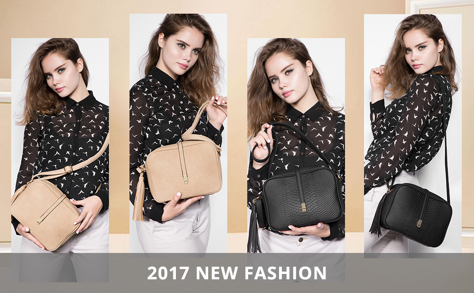 2c76eda4be1c Realer- Small Shoulder Bags PU Leather Side Purse Cross Body for Women