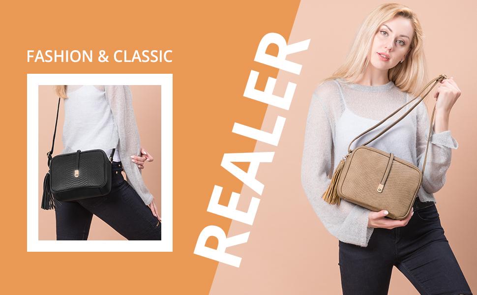 realer shoulder bag for women