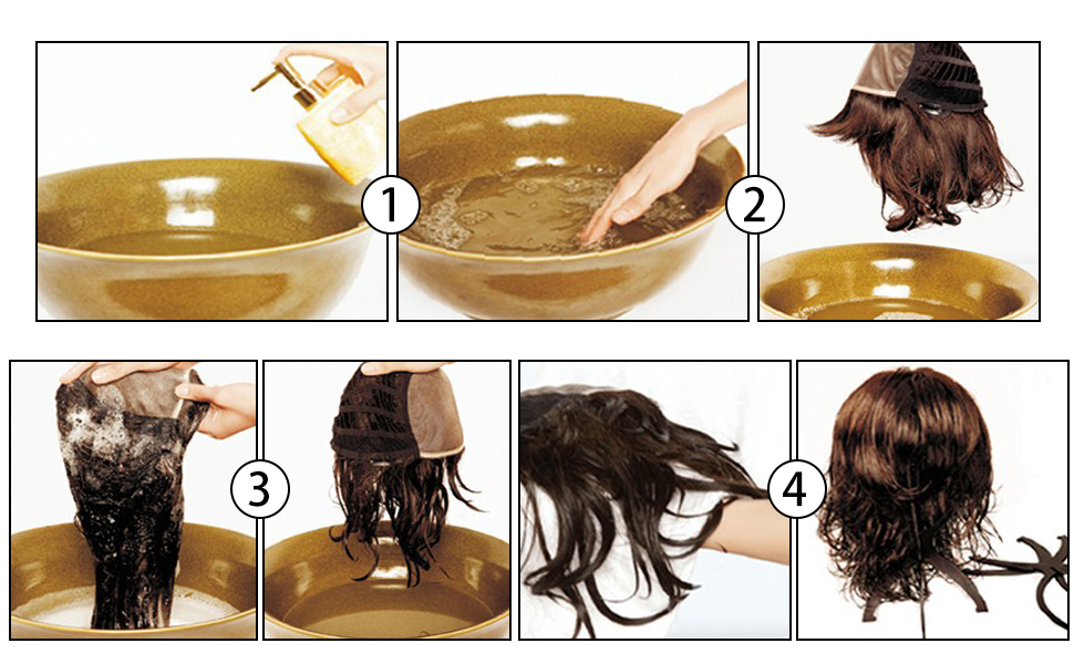 hair wash and care