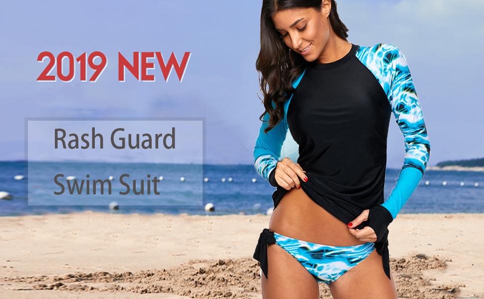 New Minnie Mouse Rash Vest Kids Swim Top Size 3 Free Post UPF 50+