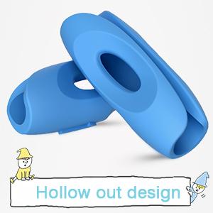 pencil grip hollowed design