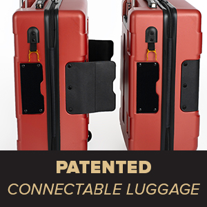 patented connectable luggage