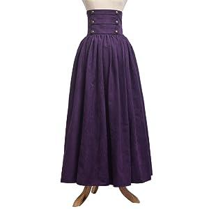 Gothic Purple Skirt