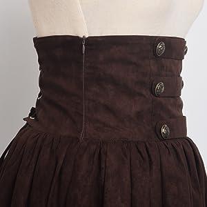 Gothic Corset Skirt