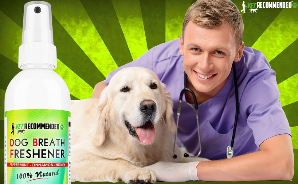 homemade dog breath spray