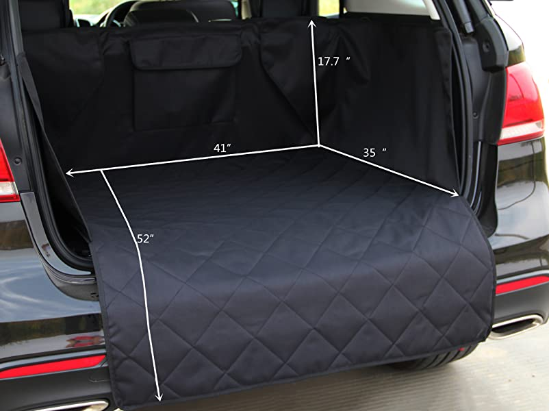 Amazon Com Innx Suv Cargo Liner For Pets Quilted Dog