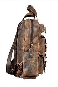 Amazon.com: Devil Hunter 18\' Leather Backpack