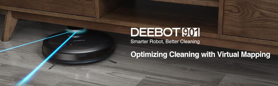 deebot 901 virtual mapping