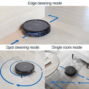 ECOVACS DEEBOT N79 Robotic Vacuum Cleaner targeted cleaning