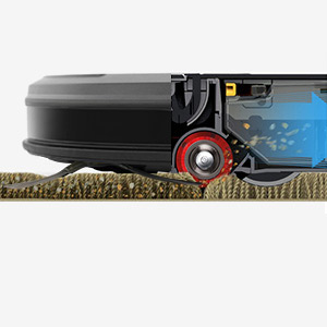 ECOVACS DEEBOT N79 Robotic Vacuum Cleaner v-shape