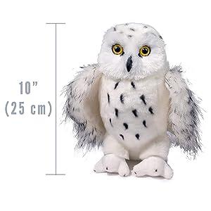 Legend Snowy Owl plush stuffed animal by Douglas Cuddle Toys.