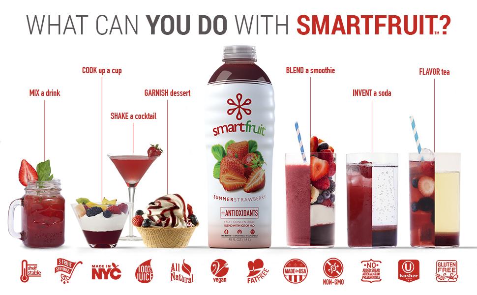 Smartfruit summer strawberry