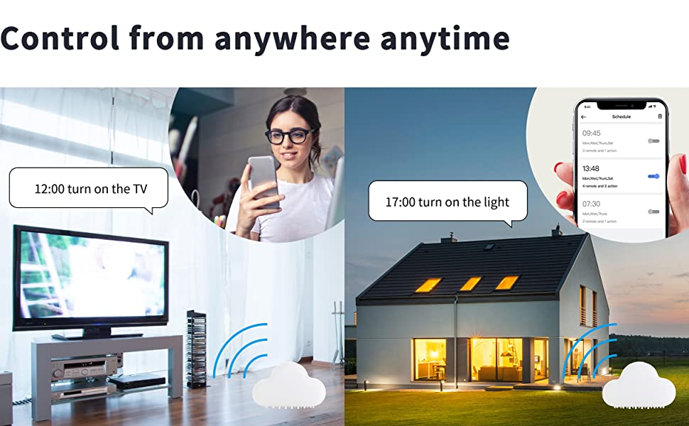 Control from anywhere anytime
