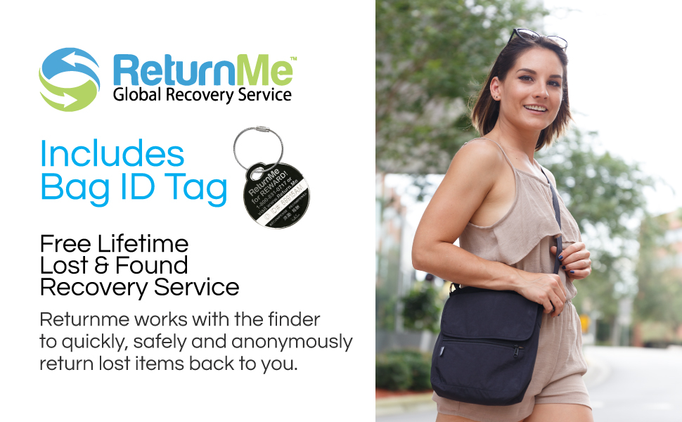 Includes ReturnMe Tag