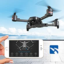 SNAPTAIN A15 drones support