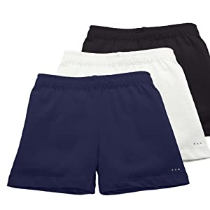 eeb171f85 Amazon.com: Sparkle Farms Girls Under Dress Shorts, Dance Shorts ...
