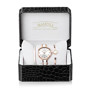 mamona women watch set