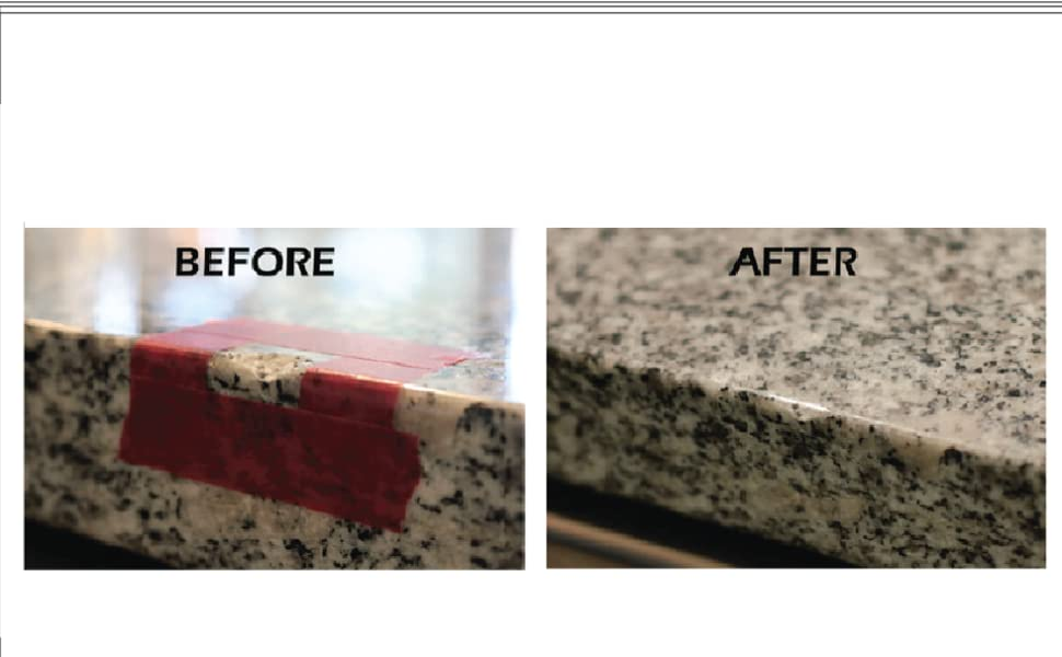 LCA(TM) Clear, Light Cure Acrylic DIY Surface Repair Kit for Granite,  Marble and Porcelain