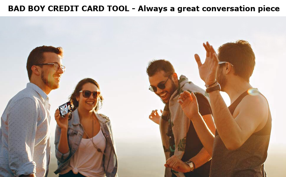smartrsq bad boy multitool card sized guy stuff cool gadgets mens gufts useful gadgets for men