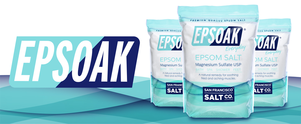 Amazon Epsoak Epsom Salt 5 Lbs Magnesium Sulfate Usp Bath