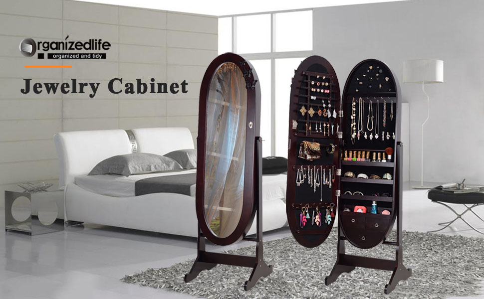Amazon Com Organizedlife Brown Luxury Full Length