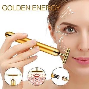 Face Massager jade roller face roller massager electric energy beauty bar facial sonic depuffer