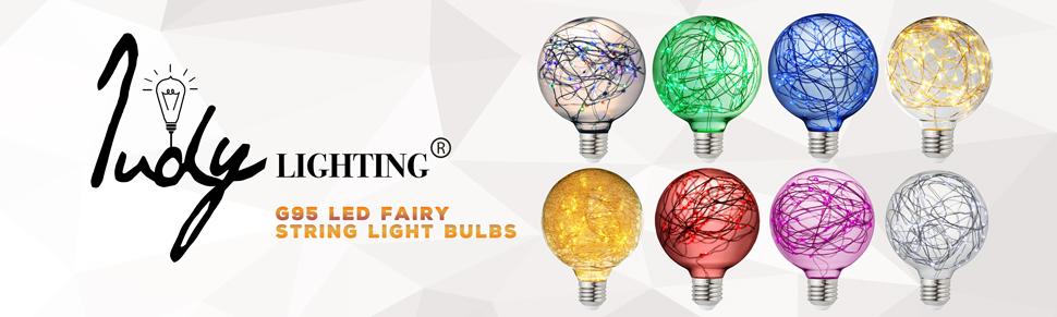 G95 Edison Globe Bulb Starry Vintage Decorative String